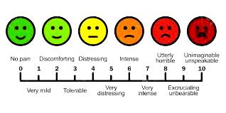 Tabella 1 – Scale per la misurazione del dolore - SCALA DI BIERI